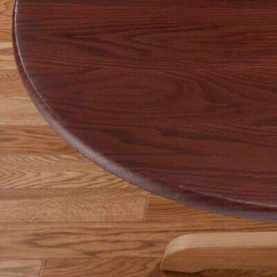 Wood Table Cover (Wood Grain Fitted Table Cover Size : 42