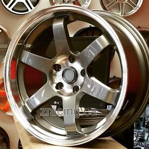 18x9 TE37 SL REP Rim for Honda Mazda Lancer Hyundai 905 673 2828