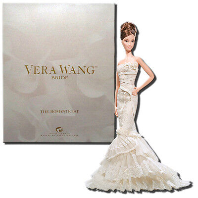 "Barbie Vera Wang ""The Romanticist"" Barbie Doll Gold Label"