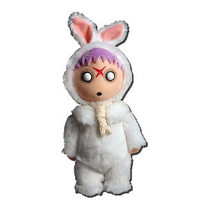 Living Dead Dolls Plush Creepy Cuddlers Series 1 Eggzorcist - Mezco Toyz