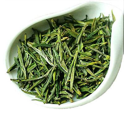 Chinese White Dragon Well Green Tea Organic Anji Lung Ching Bai Cha Long Jing