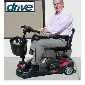 NEW DRIVE MEDICAL SCOUT SCOOTER 3 WHEEL SPITFIRE SCOUT 3 ELECTRIC WHEELCHAIR HEALTHCARE MOBILITY DEVICE 99684089