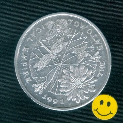 BUTTERFLY Token - BEE - DRAGONFLY-  Mardi Gras Doubloon Coin Krewe Of Comus 1991