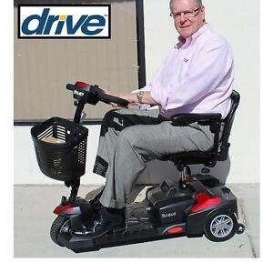 NEW DRIVE MEDICAL SCOUT SCOOTER - 123926537 - 3 WHEEL SPITFIRE SCOUT 3 ELECTRIC WHEELCHAIR HEALTHCARE MOBILITY DEVICE