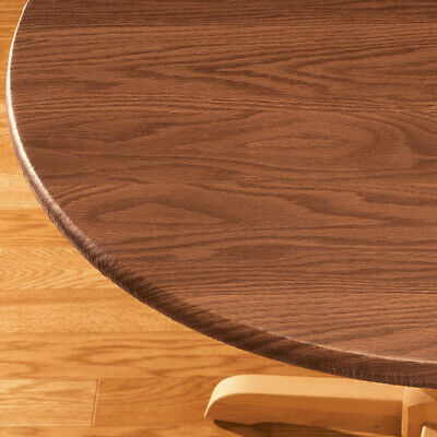 Wood Table Cover (Wood Grain Fitted Table Cover Size : 40