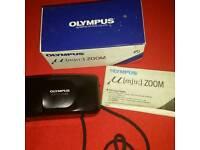 Olympus MJU Zoom Camera