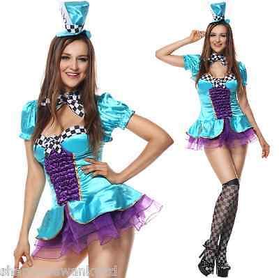 Damen Sexy Total Verrückter Hutmacher Alice Im Wunderland - Verrückter Hutmacher Alice
