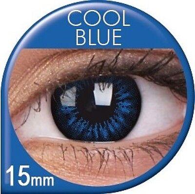 Farbige braune grüne blaue Big Eyes Kontaktlinsen Circle Lens Mit ohne (Big Eyes Kontaktlinsen)