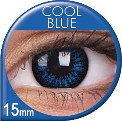 Farbige braune grüne blaue Big Eyes Kontaktlinsen Circle Lens Mit ohne Stärke