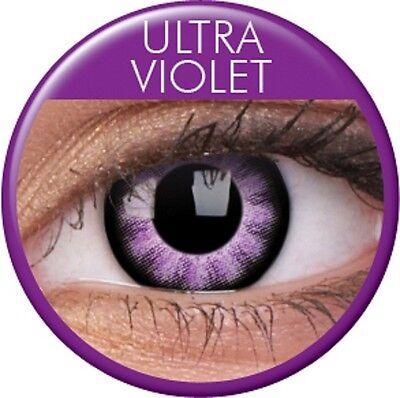 ktlinsen Big Eyes Ultra Violet große Augen Puppenaugen  (Halloween Große Augen)