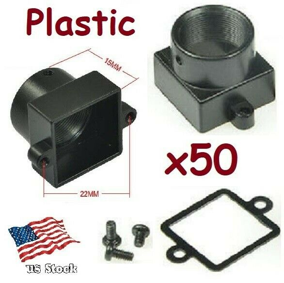 x50 Sunvision Plastic M12 / MTV Mount Lens Holder Kit for CCTV Board Camera (PM)