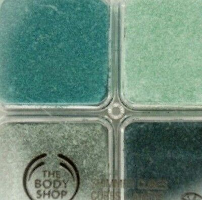 The Body Shop Shimmer Cubes Eye Shadow Palette  22 Green Light Stunning Colors