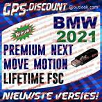 BMW 2021 USB Navigatie Update Lifetime FSC PREMIUM NEXT MOVE