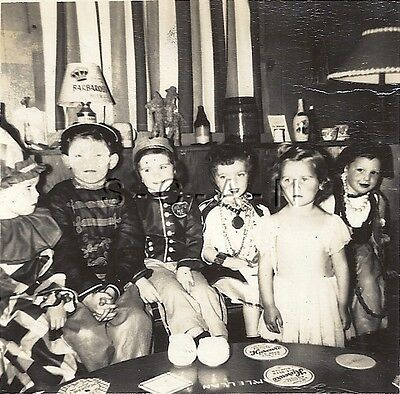 Org Vintage 1940s Halloween Party RP- Costumes- Clown- Chinaman- Soldier- - Halloween 1940 Costumes