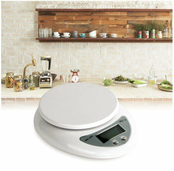 5000G/1G Digital Electronic Kitchen Food Diet Postal Scale Weight Balance