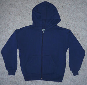 child Hoodie navy blue size 6