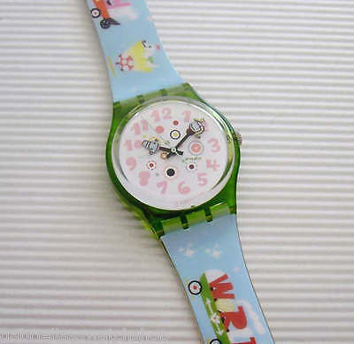 FULL HOUSE! Funky ART Swatch by OTTO STEININGER! New-RARE!