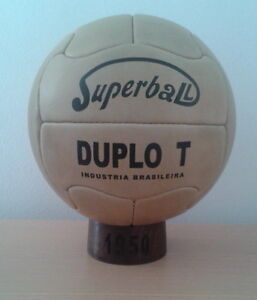 BALON-OFICIAL-MUNDIAL1950-DE-BRASIL-SUPER-DUPLO-T-Pre-adidas