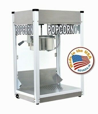 Popcorn Machine Popper Cart Paragon 8oz Pro Ps-8