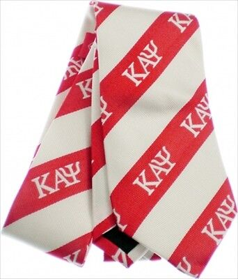 Kappa Alpha Psi Red and White Self Tie