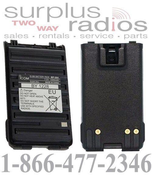 NEW OEM ICOM BP-264 NI-MH BATTERY FOR F3001 F4001 F3003 F4003 RADIOS BP264