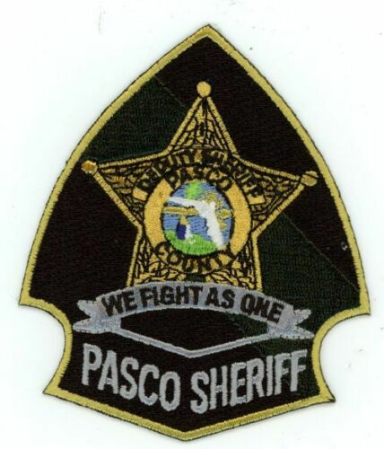 PASCO COUNTY SHERIFF FLORIDA FL NICE COLORFUL PATCH POLICE