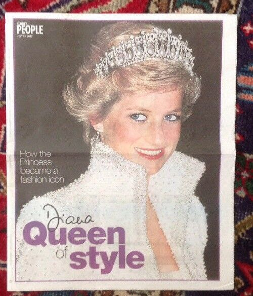 Princess Diana 20th Anniversary Queen Of Style Newspaper From UK