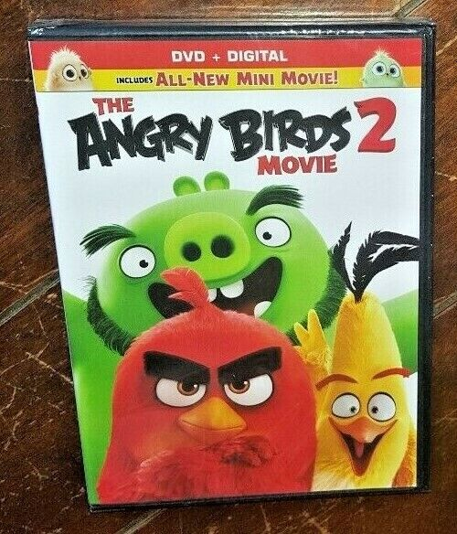 The Angry Birds Movie 2 Dvd 2019 Widescreen 43396549784 Ebay