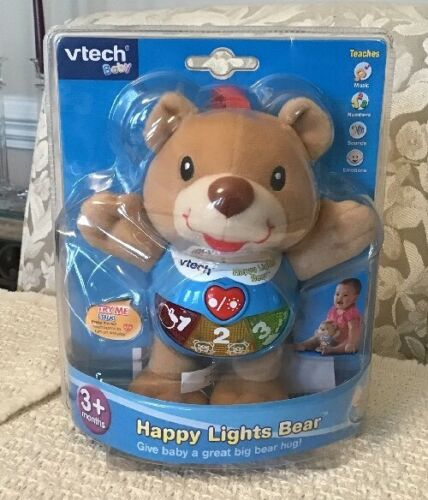 VTech Happy Lights Bear, Brown