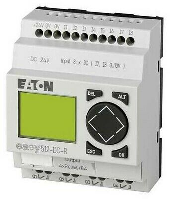 Eaton Moeller Programmable Relay Easy512-ac-rc