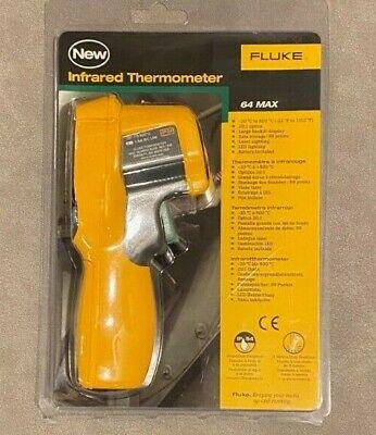 Brand New Fluke 64 Max Ir Thermometer Free Shipping