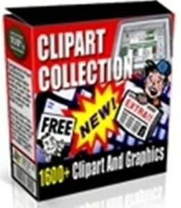 Clipart Collection - 1600 Business Images / Graphics on CD Rom