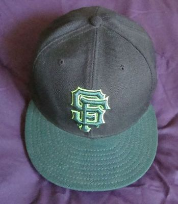 quality design 3a165 7a9ba SAN FRANCISCO GIANTS S 8 GREEN BLACK NEW ERA 59 50 BASEBALL CAP+FREE  USSHIPPING