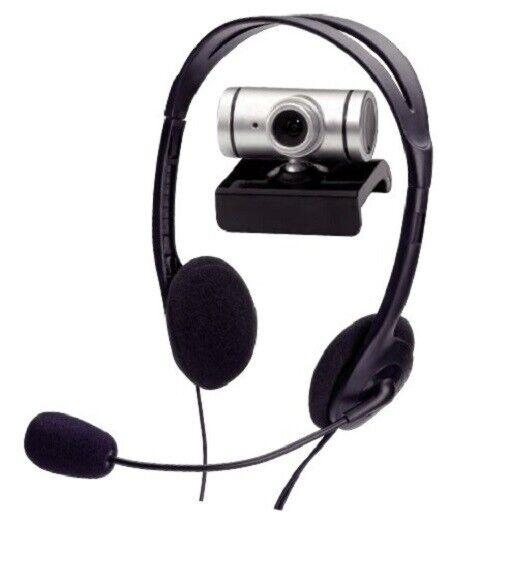 Webcam und Headset, Konferenz Kit, ednet 87223