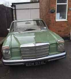 RARE MERCEDES 280CE W114 1972 TRANSITION MODEL £9500