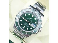 Rolex submariner hulk £300 or £350 with box and papers