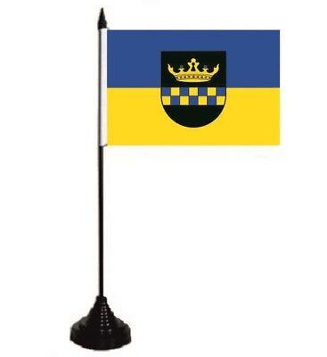 Tischflagge Sohren Tischfahne Fahne Flagge 10 x 15 cm