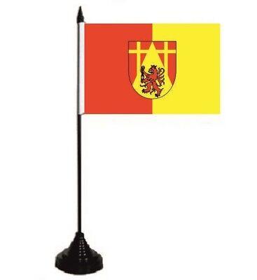 Tischflagge Spiesen-Elversberg  Tischfahne Fahne Flagge 10 x 15 cm