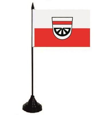 Tischflagge Spaichingen Tischfahne Fahne Flagge 10 x 15 cm