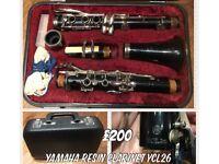 Yamaha ycl26 Clarinet vgc