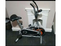 Crystaltec exercise spin bike