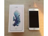 IPhone 6s 16gb silver very good condition perfect working order with box can deliver