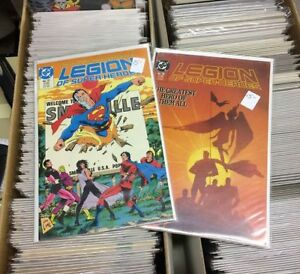 Legion of Super Heroes, The Legion and Legionnares Comics