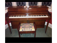 Wurlitzer Piano and stool