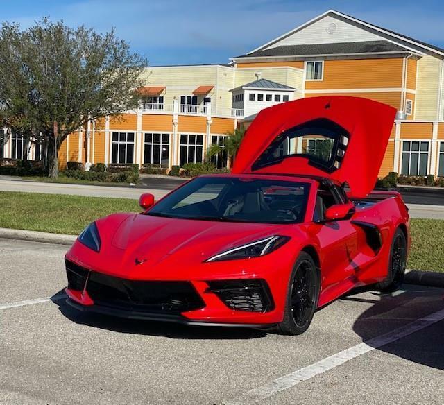 2020 Red Chevrolet Corvette  1LT | C7 Corvette Photo 5