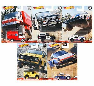 FREE SHIPPING HOT WHEELS 2020 CAR CULTURE ALL TERRAIN - SEALED CASE FPY86-Q