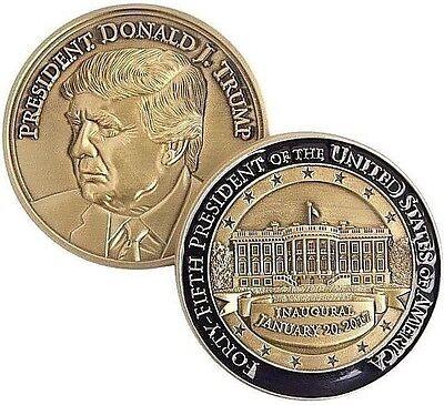 President Donald J Trump Inaugural Challenge Coin/Medal - Presidential Medallion