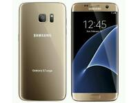 S7 Edge, Gold, 32gb, Boxed with 2 cases worth £35 Wirless Charger Checkmend Report