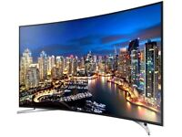 55 inch Samsung UE55HU7100 Curved 4k Ultra HD Freeview HD Freesat HD Smart LED TV - with guarantee