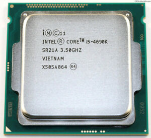 Intel 4690k Unlocked Core. 3.5GHz Quad Core (New)+liquid cooling